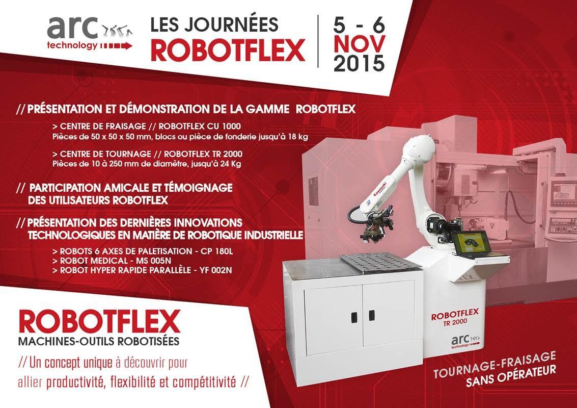 Novaxess partenaire des Journées ROBOTFLEX