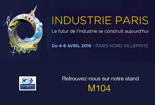 Salon Paris Industrie 2016